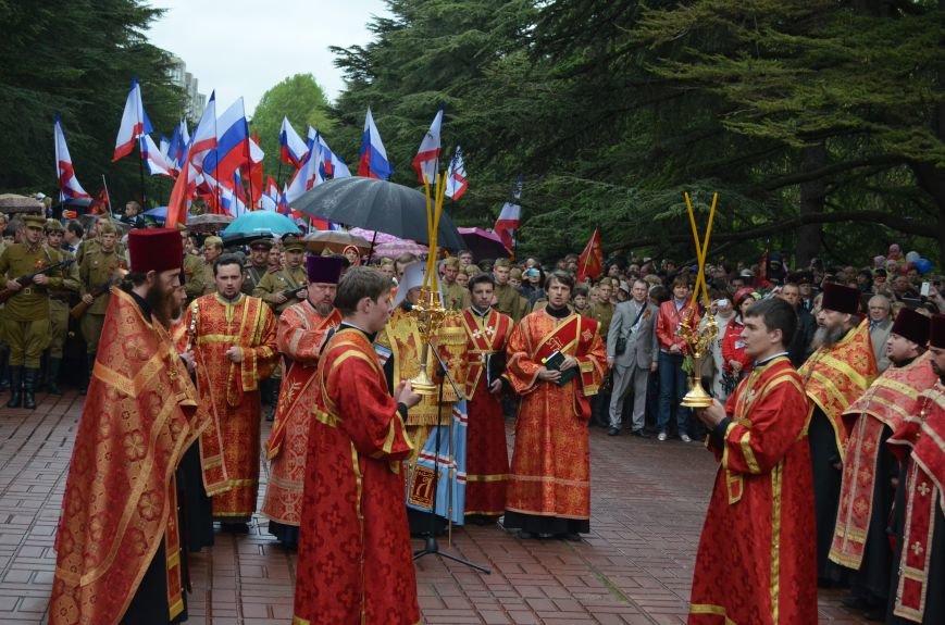 Дождь не помешал провести парад Победы в Симферополе (ФОТО, ВИДЕО), фото-17