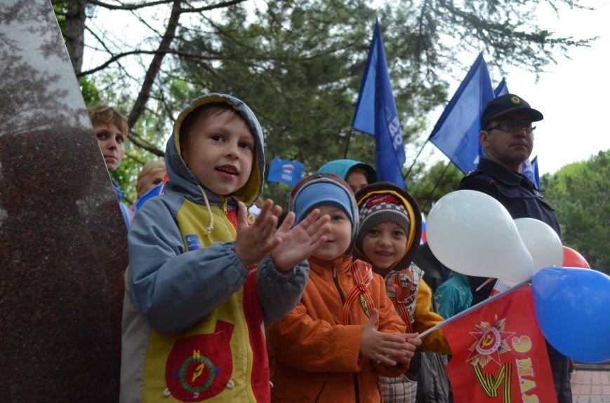 Дождь не помешал провести парад Победы в Симферополе (ФОТО, ВИДЕО), фото-11