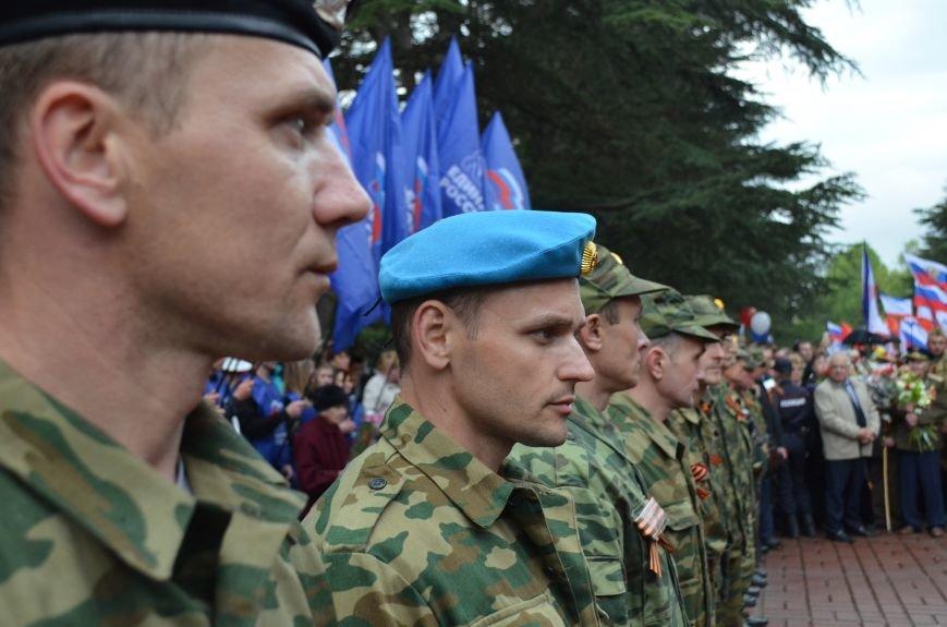 Дождь не помешал провести парад Победы в Симферополе (ФОТО, ВИДЕО), фото-20