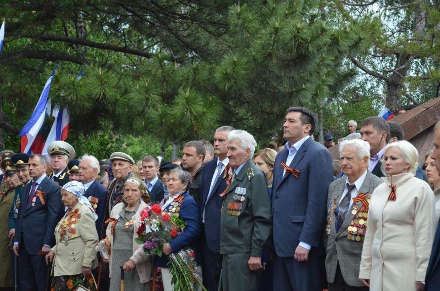 Дождь не помешал провести парад Победы в Симферополе (ФОТО, ВИДЕО), фото-15