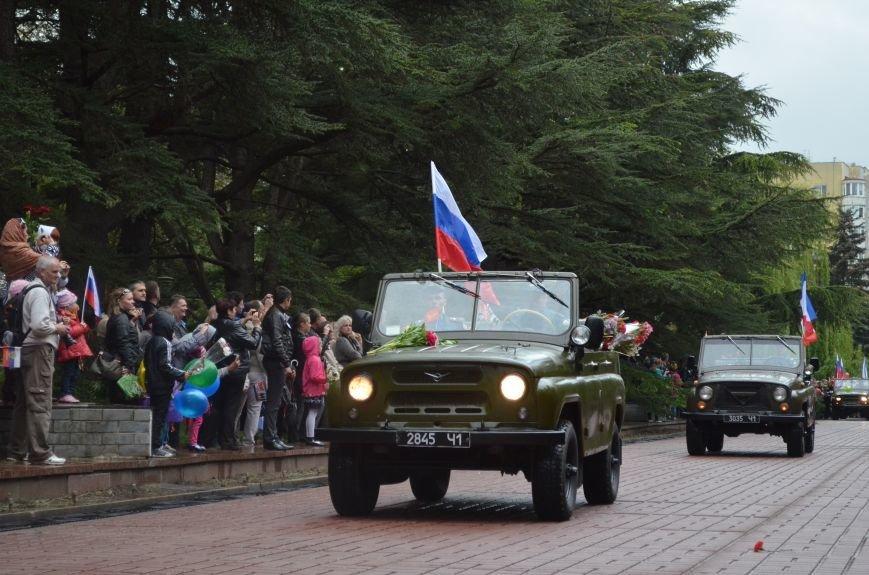 Дождь не помешал провести парад Победы в Симферополе (ФОТО, ВИДЕО), фото-10