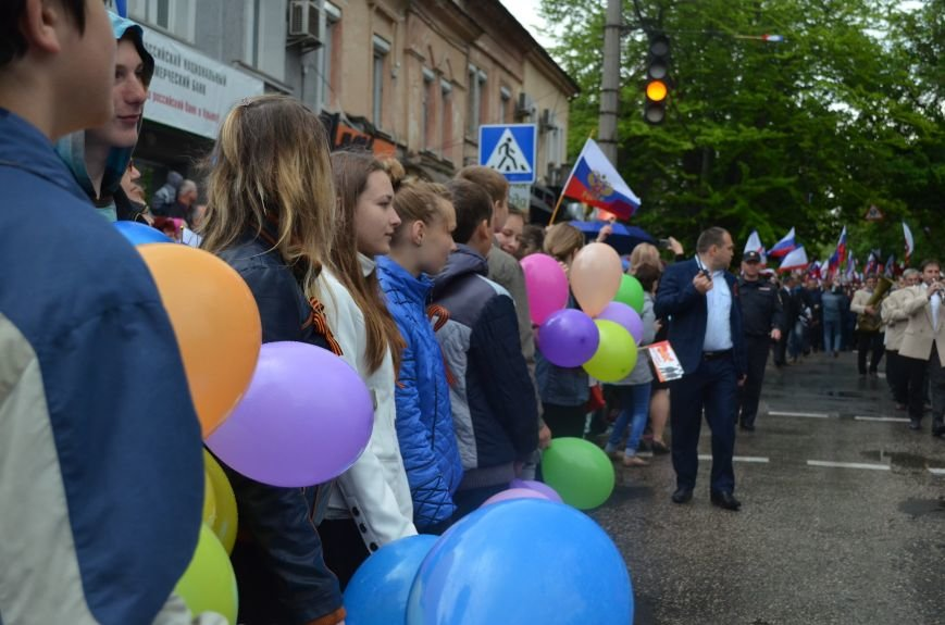 Дождь не помешал провести парад Победы в Симферополе (ФОТО, ВИДЕО), фото-7