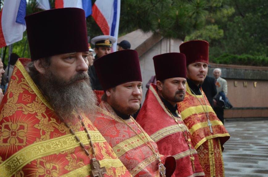 Дождь не помешал провести парад Победы в Симферополе (ФОТО, ВИДЕО), фото-18