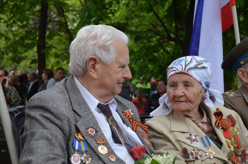 Дождь не помешал провести парад Победы в Симферополе (ФОТО, ВИДЕО), фото-2