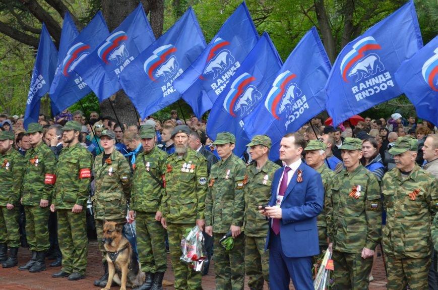 Дождь не помешал провести парад Победы в Симферополе (ФОТО, ВИДЕО), фото-19