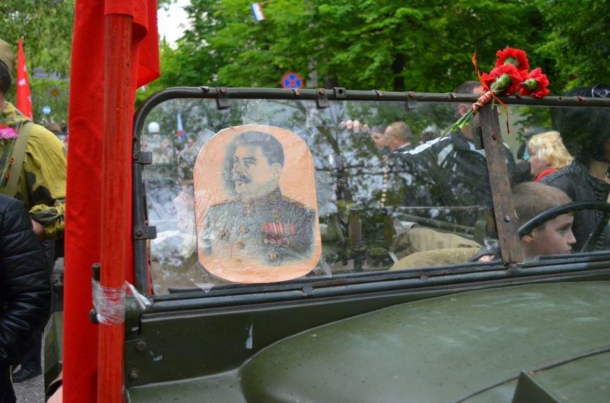 Дождь не помешал провести парад Победы в Симферополе (ФОТО, ВИДЕО), фото-3