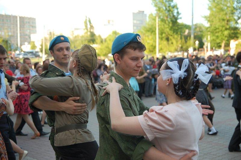 День Победы в Белгороде: Военный вальс, фото-5