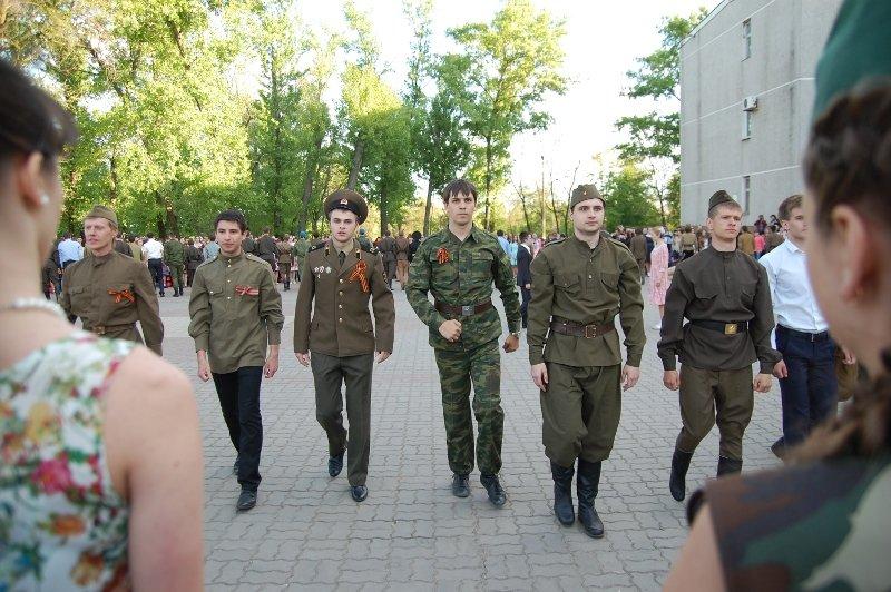 День Победы в Белгороде: Военный вальс, фото-2