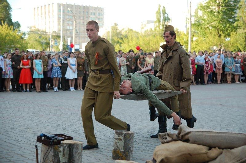 День Победы в Белгороде: Военный вальс, фото-4