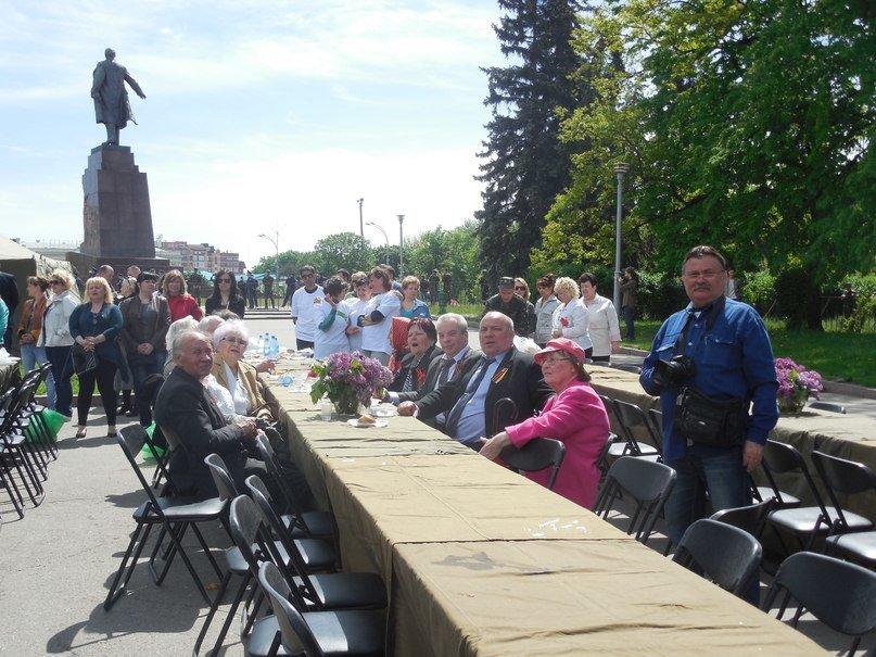 Полевая кухня: как в Харькове поздравили ветеранов, фото-4