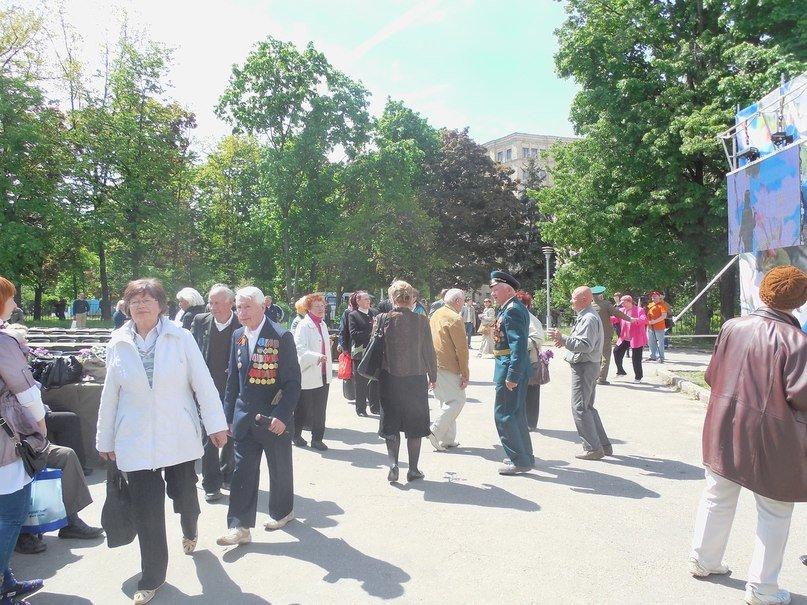 Полевая кухня: как в Харькове поздравили ветеранов, фото-2