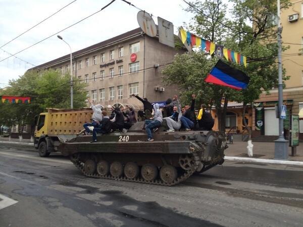 В Мариуполе активисты ДНР захватили БМП (ФОТО+ВИДЕО), фото-3