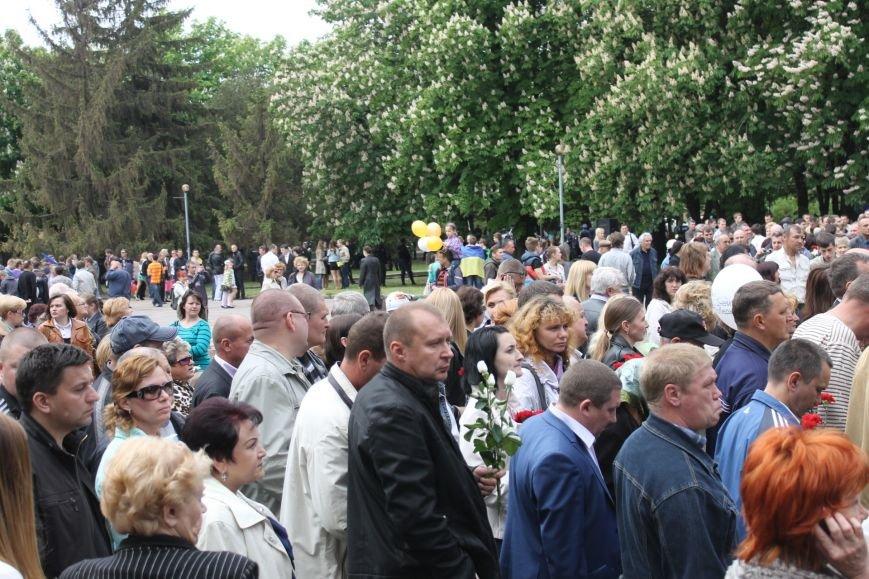 В Дзержинском районе ветеранам Кривого Рога  вручали цветы и дарили  песни (ФОТОРЕПОРТАЖ), фото-11