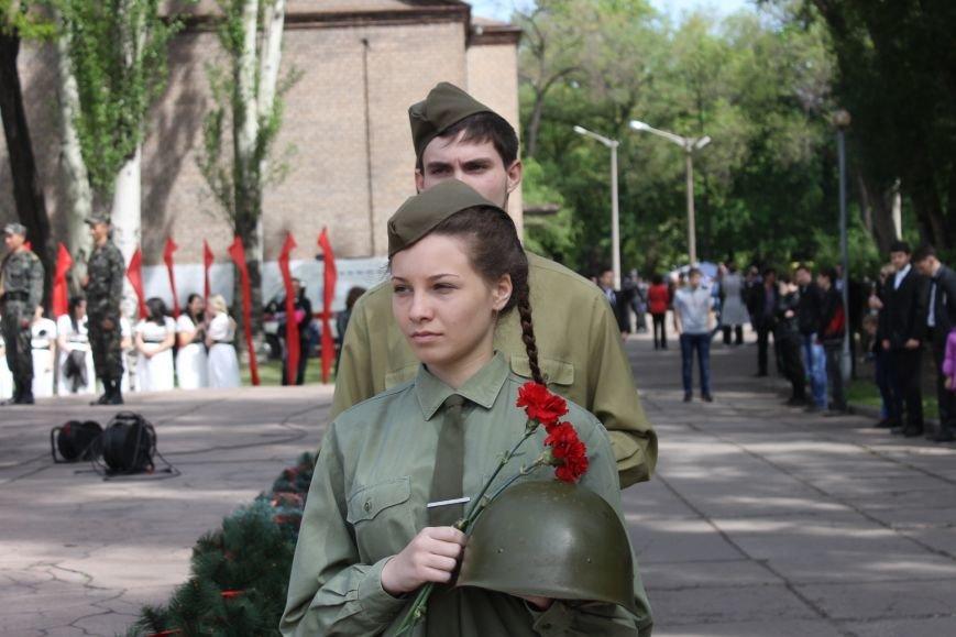 В Дзержинском районе ветеранам Кривого Рога  вручали цветы и дарили  песни (ФОТОРЕПОРТАЖ), фото-7