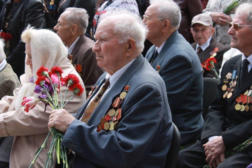 В Дзержинском районе ветеранам Кривого Рога  вручали цветы и дарили  песни (ФОТОРЕПОРТАЖ), фото-9