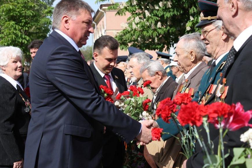 В Дзержинском районе ветеранам Кривого Рога  вручали цветы и дарили  песни (ФОТОРЕПОРТАЖ), фото-3