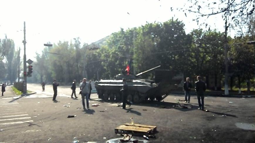 Здание Мариупольского горсовета выгорело частично, а УВД выгорело полностью (Фото), фото-3