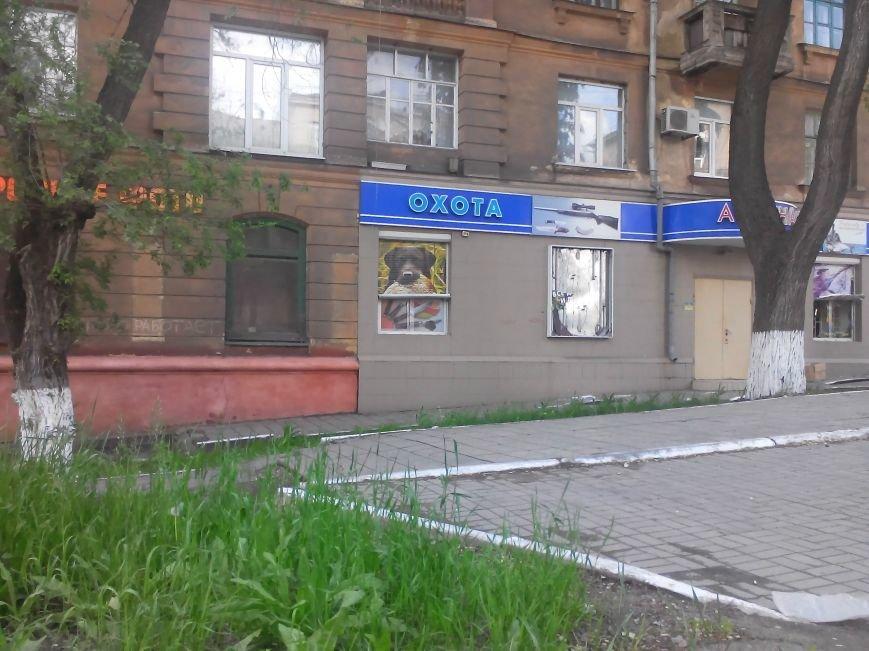 В Мариуполе совершена попытка ограбления магазинов оружия (Фото), фото-1