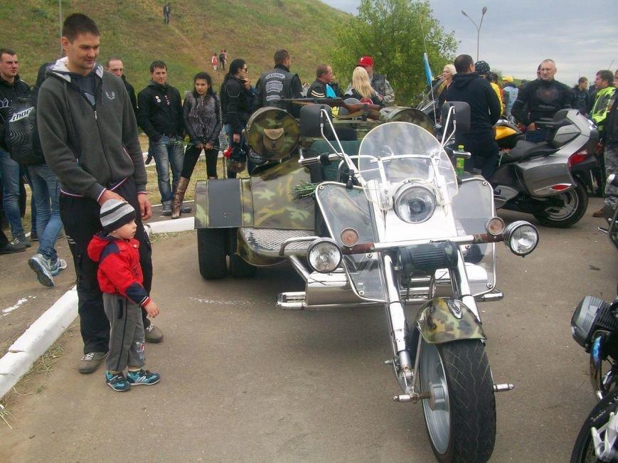 Николаевские байкеры посетили Курган Славы (ФОТО), фото-1