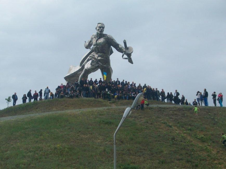 Николаевские байкеры посетили Курган Славы (ФОТО), фото-3