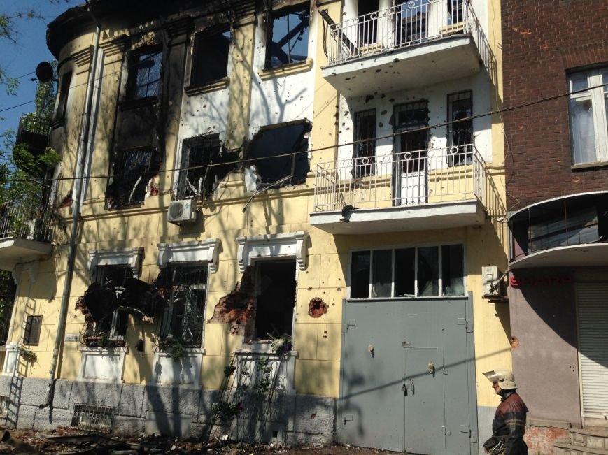 Опубликованы фотографии сгоревшего здания ГУВД и Мариупольского горсовета (ФОТО), фото-19