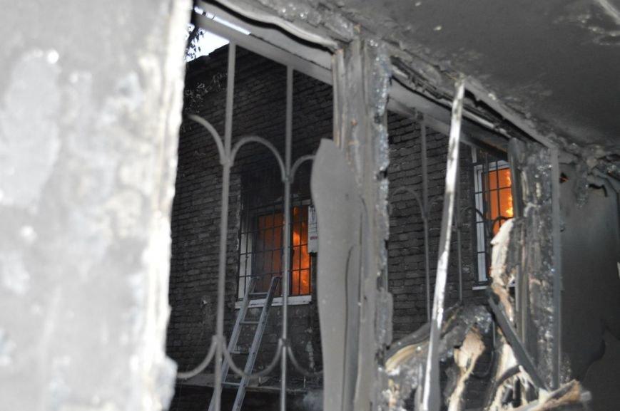 Опубликованы фотографии сгоревшего здания ГУВД и Мариупольского горсовета (ФОТО), фото-3
