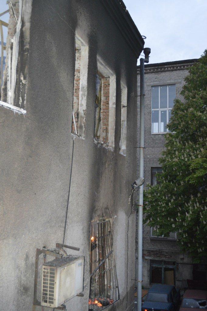 Опубликованы фотографии сгоревшего здания ГУВД и Мариупольского горсовета (ФОТО), фото-16