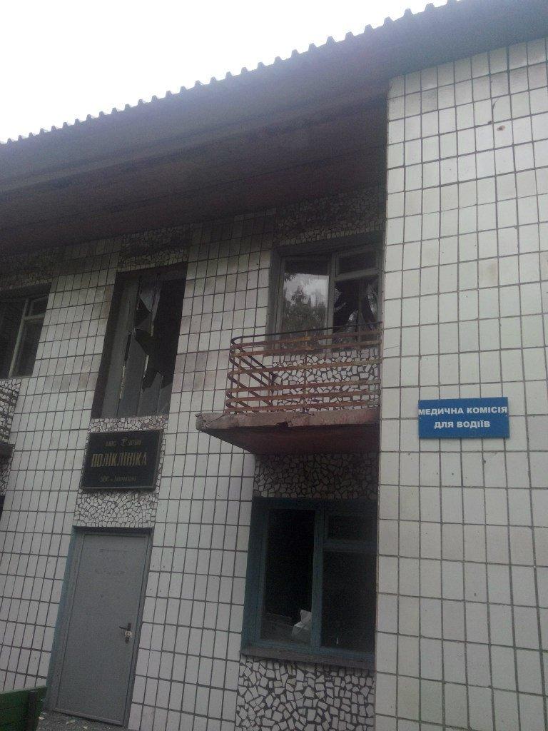 Опубликованы фотографии сгоревшего здания ГУВД и Мариупольского горсовета (ФОТО), фото-2