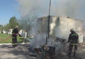 На Львівщині загорівся автомобільний причеп (ФОТО, ВІДЕО), фото-1