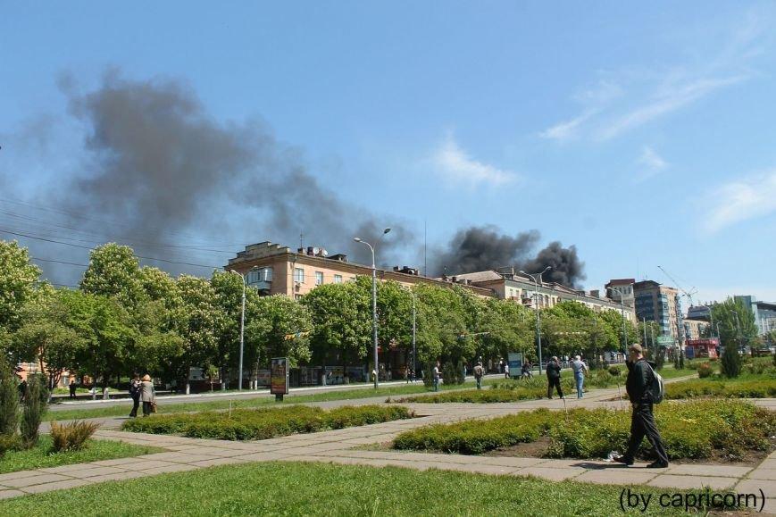 В Мариуполе горели баррикады у подземного перехода (ФОТО), фото-4
