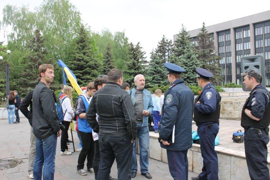 В Кривом Роге  на шутливый флеш-моб  первыми отреагировали сотрудники милиции (ФОТО, ВИДЕО), фото-13