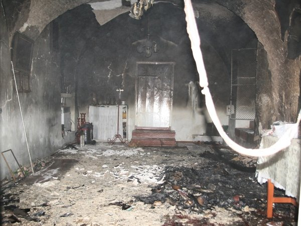 На Тернопільщині в одному селищі горіли одразу дві церкви (фото), фото-2