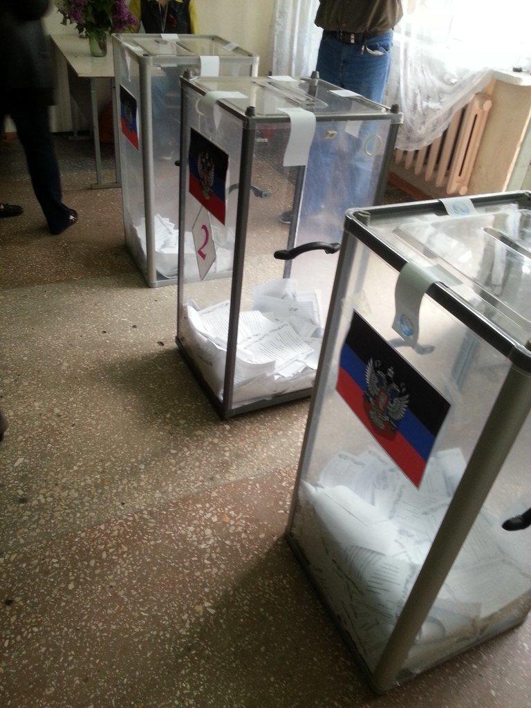 В Донецкой и Луганской областях проходят референдумы о статусе регионов (ФОТО, ВИДЕО), фото-2