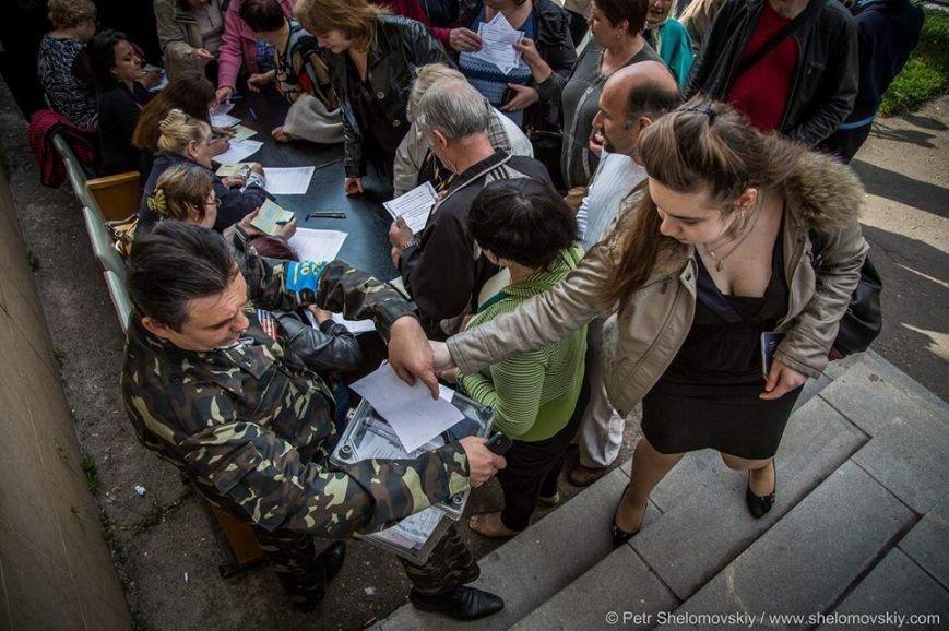В Донецкой и Луганской областях проходят референдумы о статусе регионов (ФОТО, ВИДЕО), фото-4