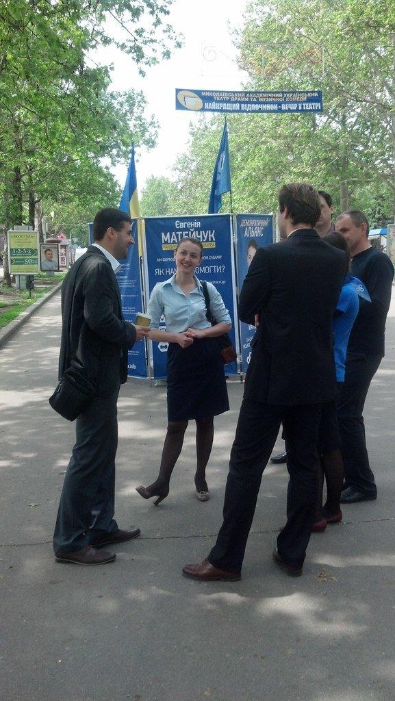 Кандидат в мэры Николаева вышла «в народ» (ФОТО), фото-2