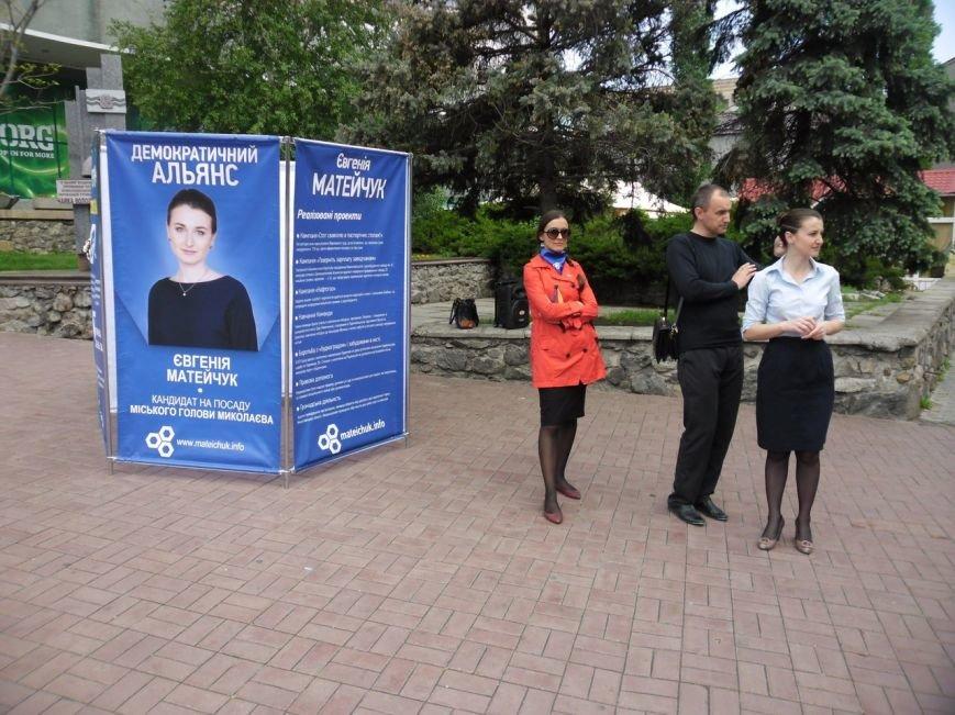 Кандидат в мэры Николаева вышла «в народ» (ФОТО), фото-3