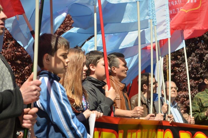 Симферопольцы вышли на митинги в поддержку юго-востока Украины (ФОТО, ВИДЕО), фото-2
