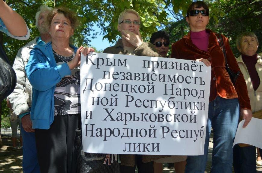 Симферопольцы вышли на митинги в поддержку юго-востока Украины (ФОТО, ВИДЕО), фото-9