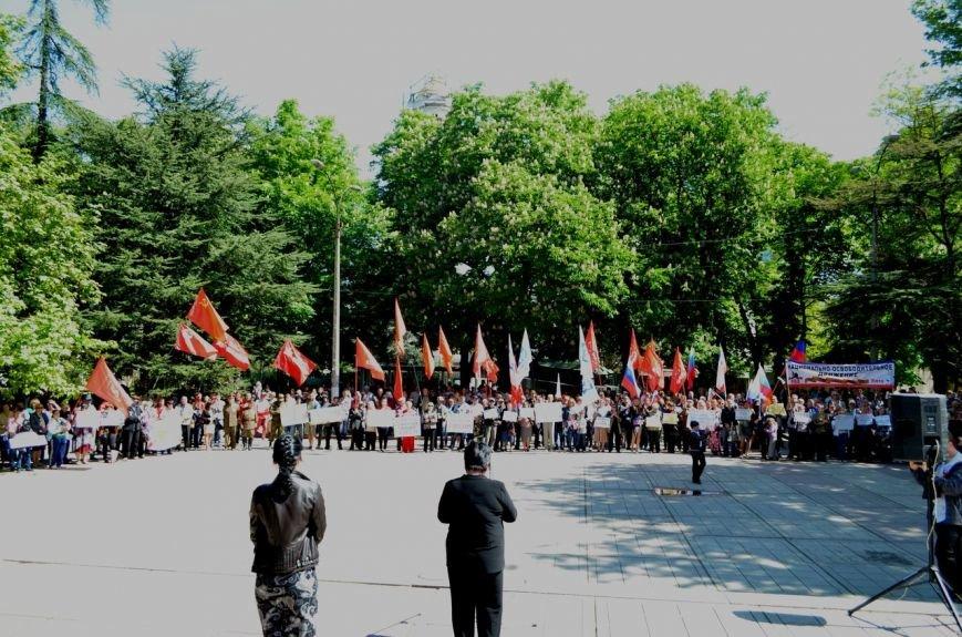 Симферопольцы вышли на митинги в поддержку юго-востока Украины (ФОТО, ВИДЕО), фото-7