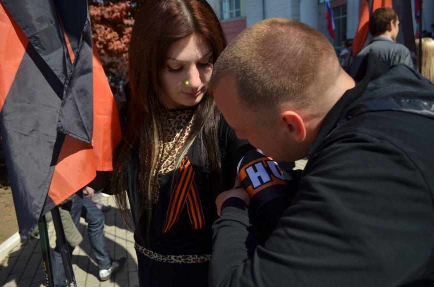 Симферопольцы вышли на митинги в поддержку юго-востока Украины (ФОТО, ВИДЕО), фото-6