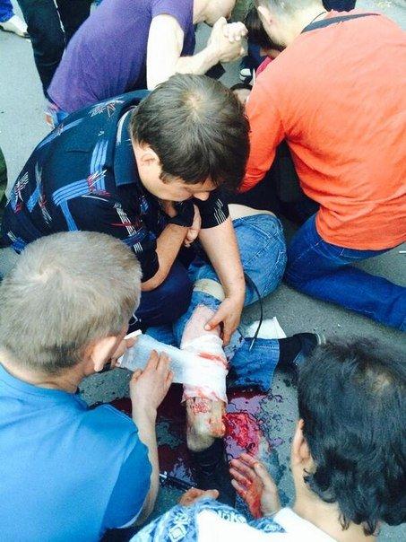 Двое жителей Красноармейска получили смертельные ранения в результате стрельбы, открытой бойцами батальона «Днепр» (Обновлено) (фото) - фото 3