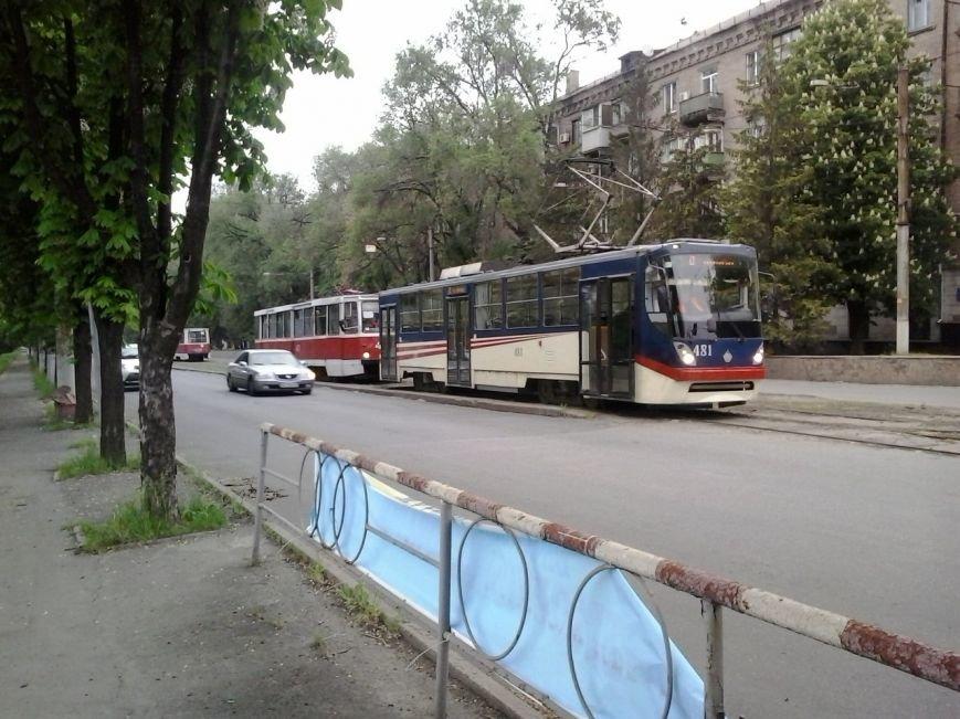 В Кривом Роге стояли трамваи (ФОТО), фото-1