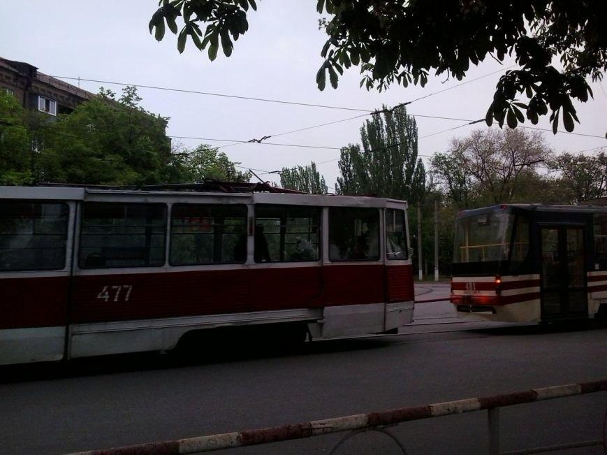 В Кривом Роге стояли трамваи (ФОТО), фото-2