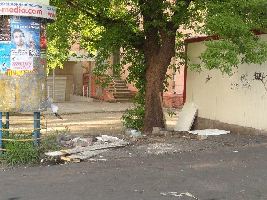В Мариуполе «Горячая выпечка» стала частью баррикады (Фотофакт), фото-2