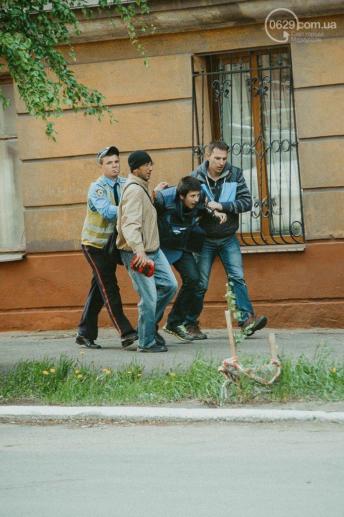 Из Донецка вылетел самолет с раненым в Мариуполе журналистом RT, фото-1
