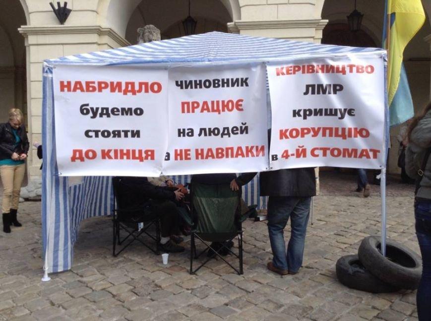 Стоматологи почали «безстроковий страйк» на Площі Ринок (ФОТО), фото-1