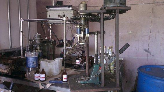 Жители Днепродзержинска в трех подпольных цехах изготовляли фальсифицированный алкоголь и спирт, фото-1