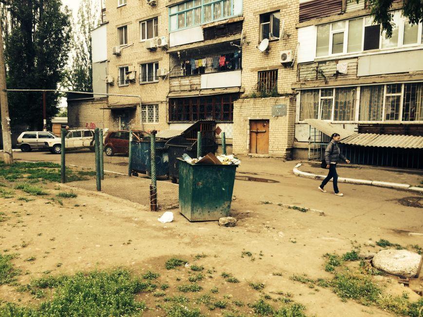 В Николаеве агитацию кандидата на пост городского головы «прячут» в мусорники (ФОТОФАКТ), фото-1