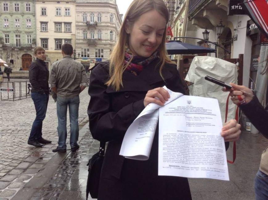 Сьогодні на площі Ринок скандалили через арт-галерею (ФОТО, ВІДЕО), фото-3