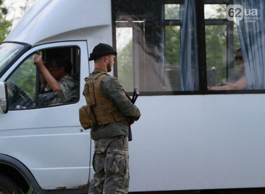 Въезд в Донецк со стороны Мариуполя взял под охрану батальон «Восток» (ФОТО, ВИДЕО), фото-1
